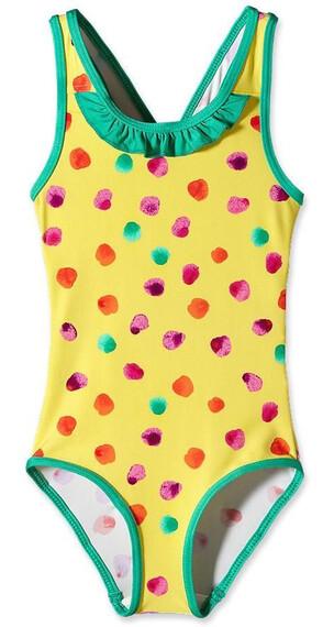 Patagonia Baby QT Swimsuit Fingerpaint Dots: Pineapple (766)